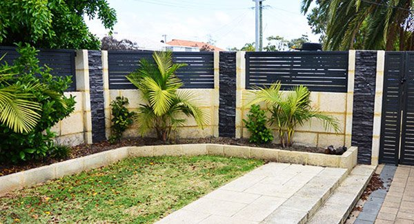Private Limestone Retaining Walls Perth