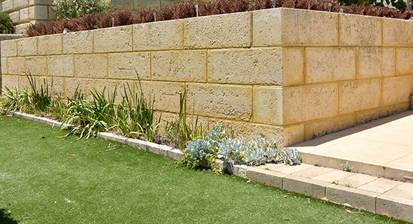Natural Limestone Walls : Retaining walls perth how to plan limestone